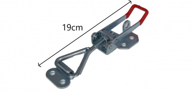 Large Sized Adjustable Tail/Wing Dolly Clamp, Single